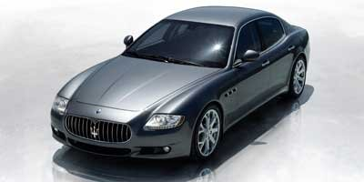 2010 Maserati Quattroporte S Rear Wheel Drive Active Suspension Power Steering 4-Wheel Disc Brak