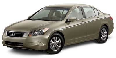 2010 Honda Accord Sdn LX-P Front Wheel Drive Power Steering 4-Wheel Disc Brakes Aluminum Wheels