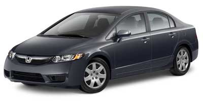 2010 Honda Civic Sdn LX Blue