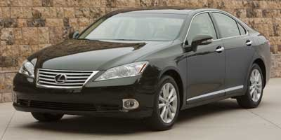 2010 Lexus ES 350  CARGO NET FULL-SIZE SPARE TIRE W17 ALLOY WHEEL HEATED  VENTILATED FRONT SEA
