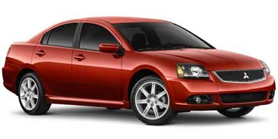 2012 Mitsubishi Galant FE Front Wheel Drive Power Steering 4-Wheel Disc Brakes Aluminum Wheels