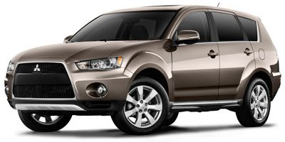 2010 Mitsubishi Outlander ES Four Wheel Drive Power Steering 4-Wheel Disc Brakes Aluminum Wheels