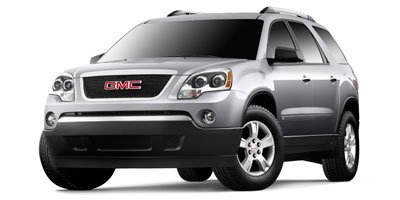 2011 GMC Acadia SLE SLE-1 PREFERRD EQUIPMENT GROUP  Includes Standard Equipment Steering Wheel Aud