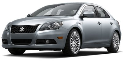 2012 Suzuki Kizashi  Front Wheel Drive Power Steering 4-Wheel Disc Brakes Tires - Front Performa