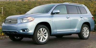2010 Toyota Highlander Hybrid Limited w3rd Row Four Wheel Drive Power Steering 4-Wheel Disc Brak