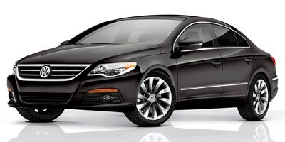 2010 Volkswagen CC Luxury BLACK  LEATHER SEAT TRIM DEEP BLACK METALLIC TECHNOLOGY PKG  wMDI -inc