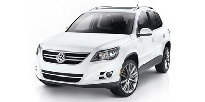 2010 Volkswagen Tiguan  Turbocharged Traction Control Four Wheel Drive Power Steering 4-Wheel D