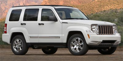 2011 Jeep Liberty Limited Four Wheel Drive Power Steering Temporary Spare Tire Aluminum Wheels