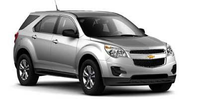 2012 Chevrolet Equinox LS 182 hp horsepower 2-way power adjustable drivers seat 24 liter inline