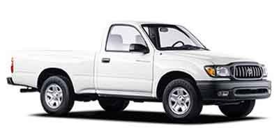 2001 Toyota Tacoma REG CAB 2WD MT Rear Wheel Drive Tires - Front All-Season Tires - Rear All-Seas