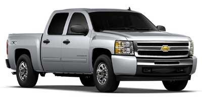 """2012 Chevrolet Silverado 1500 LT 4WD Crew Cab 143.5"""" LT Gas/Ethanol V8 5.3L/323 [18]"""