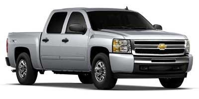 "2012 Chevrolet Silverado 1500 LS 4WD Crew Cab 143.5"" LS Gas/Ethanol V8 4.8L/293 [0]"