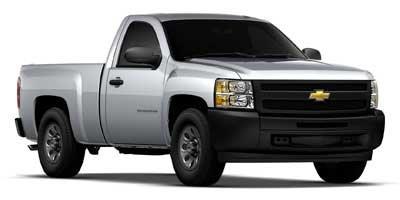 """2012 Chevrolet Silverado 1500 Work Truck 2WD Reg Cab 119.0"""" Work Truck Gas V6 4.3L/262 [14]"""