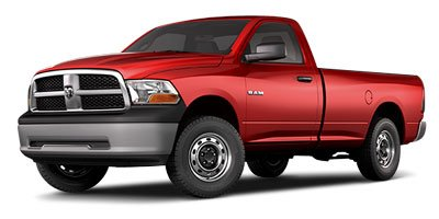 2012 Ram 1500 ST 2D Standard Cab Rear Wheel Drive Power Steering ABS 4-Wheel Disc Brakes Tires