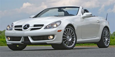 2010 Mercedes SLK-Class SLK300 Rear Wheel Drive Power Steering 4-Wheel Disc Brakes Aluminum Whee