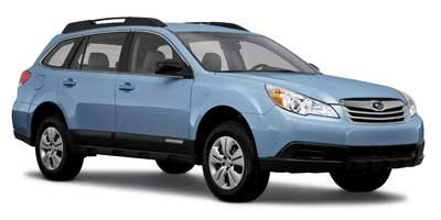 2011 Subaru Outback 25i All Wheel Drive Power Steering 4-Wheel Disc Brakes Wheel Covers Steel