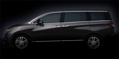 2012 Nissan Quest  Front Wheel Drive Power Steering 4-Wheel Disc Brakes Temporary Spare Tire Re