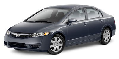2011 Honda Civic Sdn LX GRAY  SEAT TRIM ROYAL BLUE PEARL Front Wheel Drive Power Steering Front