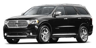 2011 Dodge Durango Crew Brilliant Black Crystal Pearl