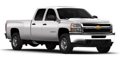 2012 Chevrolet Silverado 3500HD Work Truck  2 Doors 4WD Type - Part-time Air conditioning Autom