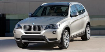 2012 BMW X3 28i All Wheel Drive Power Steering ABS 4-Wheel Disc Brakes Brake Assist Tires - Fr