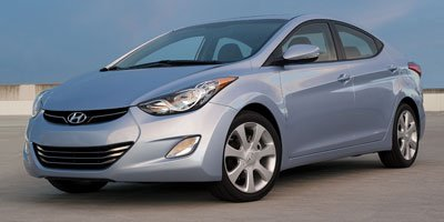 2012 Hyundai Elantra - Front Wheel Drive Power Steering 4-Wheel Disc Brakes Heated Mirrors Powe