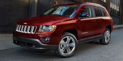2011 Jeep Compass  Four Wheel Drive Power Steering Aluminum Wheels Tires - Front All-Season Tir