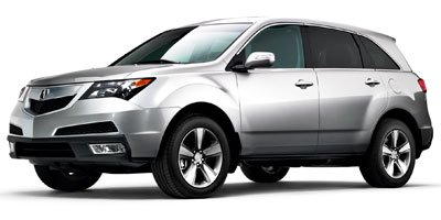 2011 Acura MDX 37L All Wheel Drive Power Steering 4-Wheel Disc Brakes Aluminum Wheels Tires -