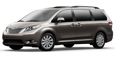 2012 Toyota Sienna Ltd Front Wheel Drive Keyless Start Power Steering 4-Wheel Disc Brakes Alumi