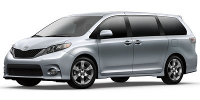 2012 Toyota Sienna SE Front Wheel Drive Power Steering 4-Wheel Disc Brakes Aluminum Wheels Tire