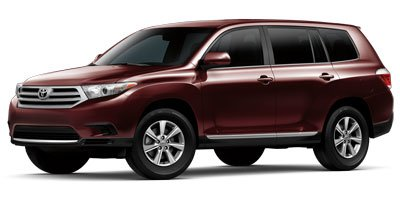 2013 Toyota Highlander Sport Utility 4D Front Wheel Drive Power Steering 4-Wheel Disc Brakes Alu
