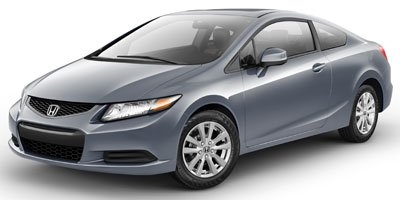 2012 Honda Civic Cpe EX Front Wheel Drive Power Steering 4-Wheel Disc Brakes Aluminum Wheels Ti