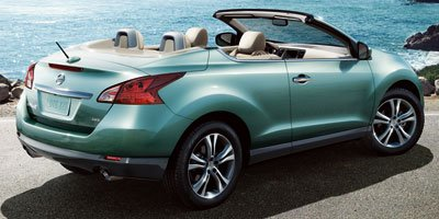2011 Nissan Murano CrossCabriolet Crosscabriolet Navigation System All Wheel Drive Power Steering