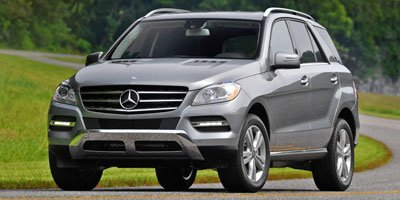 2013 Mercedes M-Class ML350 All Wheel Drive Power Steering 4-Wheel Disc Brake