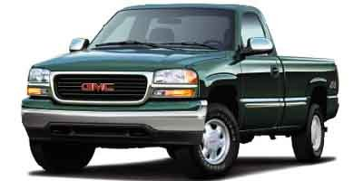 2002 GMC Sierra 1500 REG CAB 4WD 119 Four Wheel Drive Tow Hooks Tires - Front All-Season Tires -