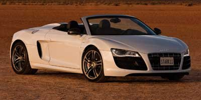 2011 Audi R8 52L All Wheel Drive Traction Control Active Suspension Power Steering 4-Wheel Dis