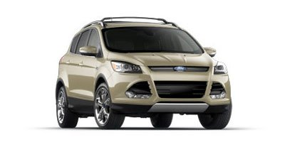 2013 Ford Escape Titanium PWR PANORAMA ROOF Turbocharged Front Wheel Drive Power Steering ABS