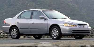 Used 2002 Honda Accord Sedan SE