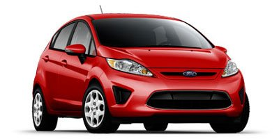 2013 Ford Fiesta SE Front Wheel Drive Power Steering Wheel Covers Steel Wheels Tires - Front Al