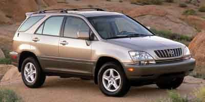 2002 Lexus RX 300 4WD Traction Control Four Wheel Drive Tires - Front OnOff Road Tires - Rear O