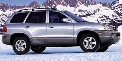 2002 Hyundai Santa Fe GLS Front Wheel Drive Tires - Front All-Season Tires - Rear All-Season Alu