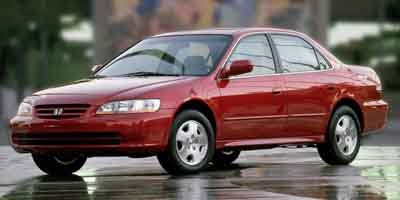2002 Honda Accord Sdn EX Front Wheel Drive Engine Immobilizer Tires - Front All-Season Tires - R