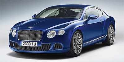 2013 Bentley Continental GT Speed  Turbocharged All Wheel Drive Air Suspension 4-Wheel Disc Brak
