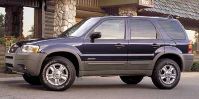 2002 Ford Escape XLS Value VALUE SERIES ORDER CODE Four Wheel Drive Tires - Front All-Season Tir