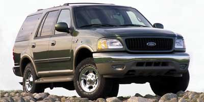 2002 Ford Expedition Eddie Bauer Four Wheel Drive Tow Hitch Tow Hooks Tires - Front All-Terrain