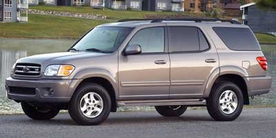 2002 Toyota Sequoia SR5 Traction Control Four Wheel Drive Tires - Front All-Season Tires - Rear