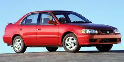 2002 Toyota Corolla LE Front Wheel Drive Tires - Front All-Season Tires - Rear All-Season Tempor
