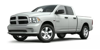 2014 Ram 1500 SLT Four Wheel Drive Power Steering ABS 4-Wheel Disc Brakes Brake Assist Aluminu