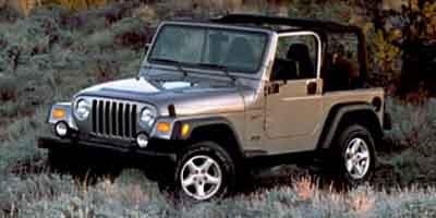 2002 Jeep Wrangler Sport 40L 242 SMFI I6 POWER TECH ENGINE  STD  Folding soft top wsoft wi