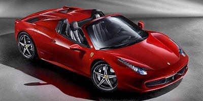 2013 Ferrari 458 Italia  LockingLimited Slip Differential Rear Wheel Drive Power Steering 4-Whe